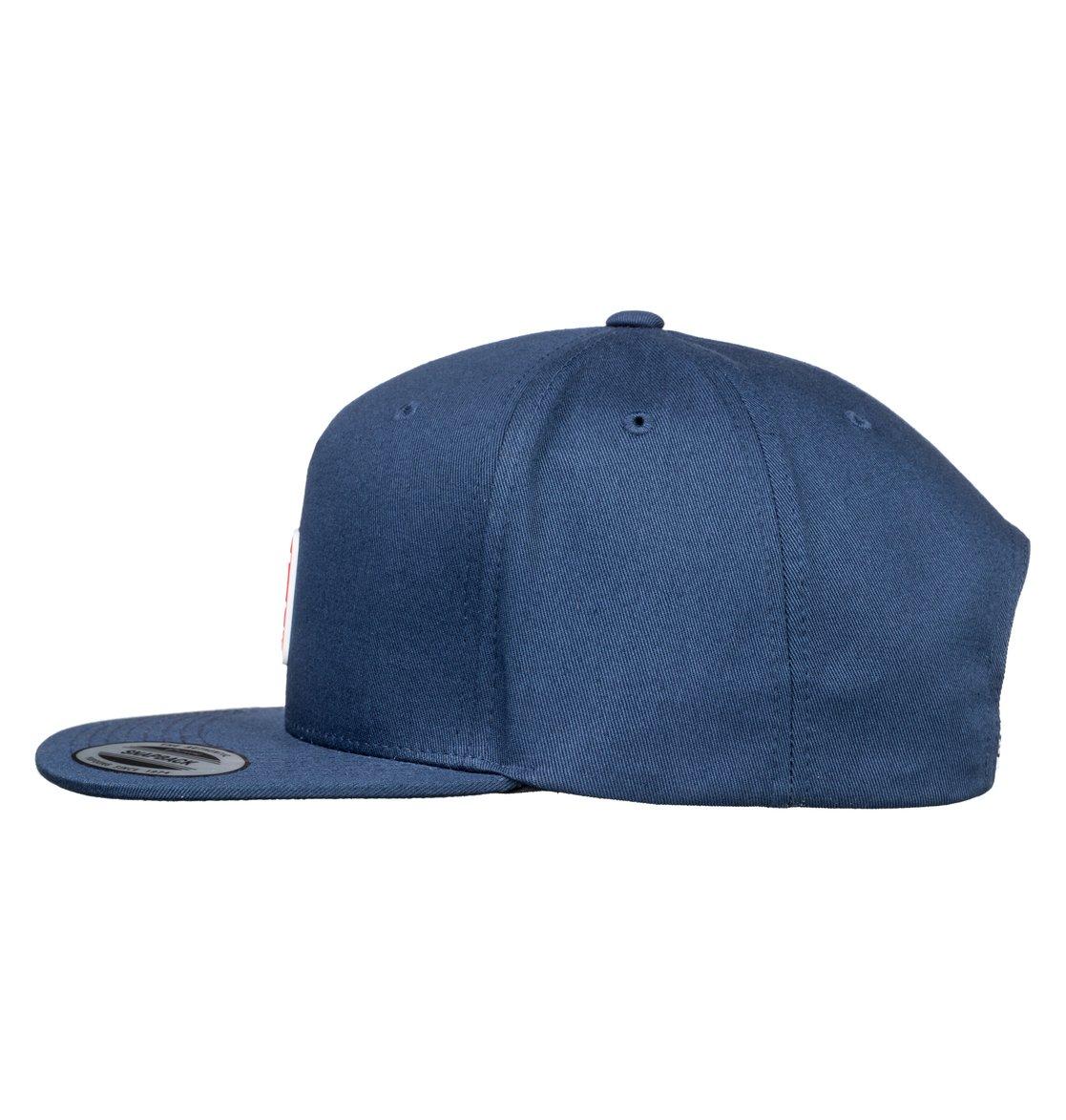 3a32cabf44b25 1 Boy s 8-16 Snapdragger Snapback Hat Blue ADBHA03094 DC Shoes