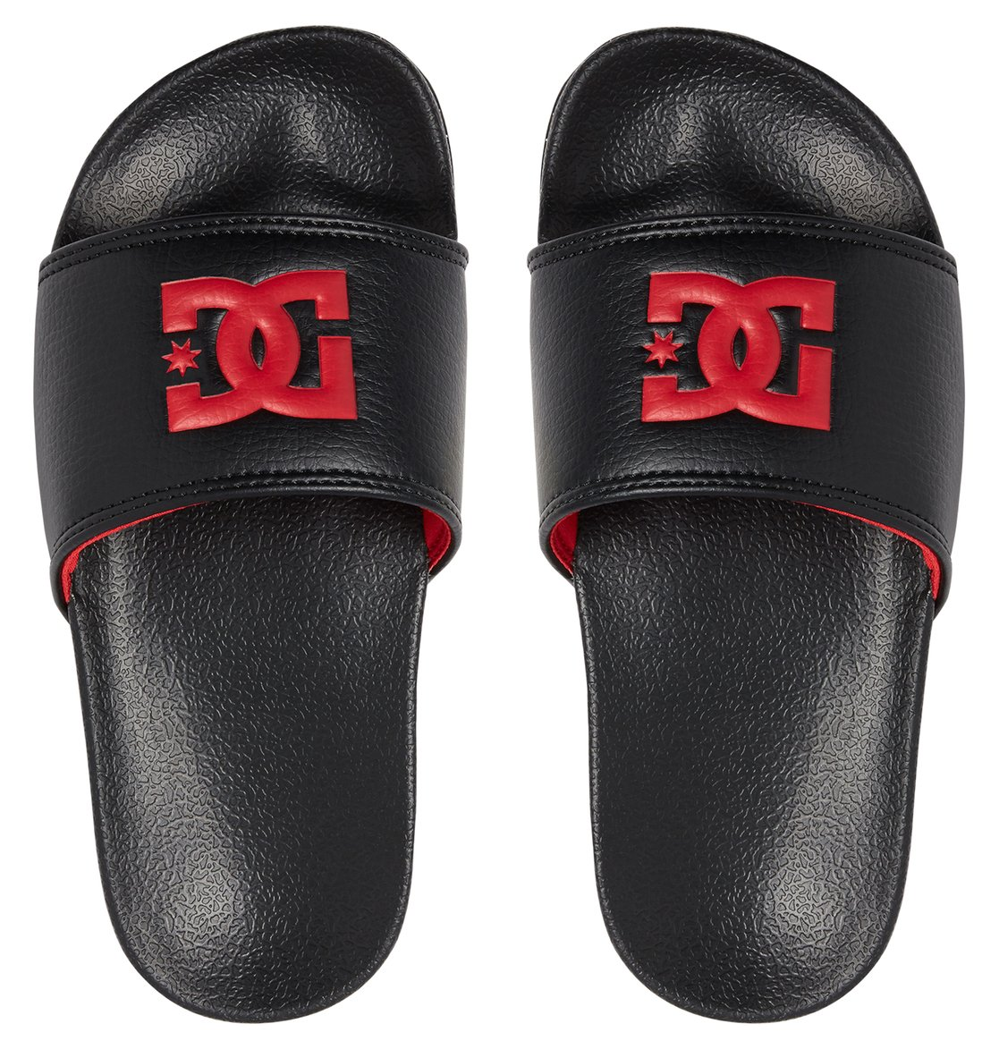 7d0f1a292b41f 2 Boy s 8-16 DC Slide Sliders Black ADBL100025 DC Shoes