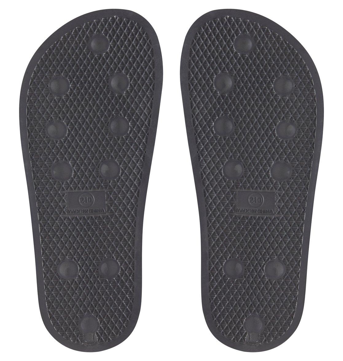 24f93d22024be 3 Boy s 8-16 DC Slide Sliders Grey ADBL100025 DC Shoes