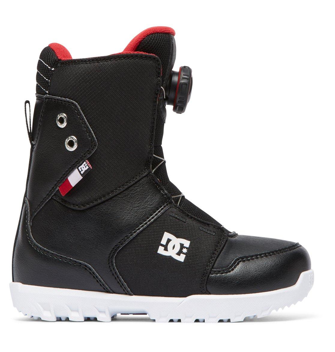 aee5ae8f 0 Niños 8-16 Botas para Snowboard Youth Scout BOA Negro ADBO100005 DC Shoes