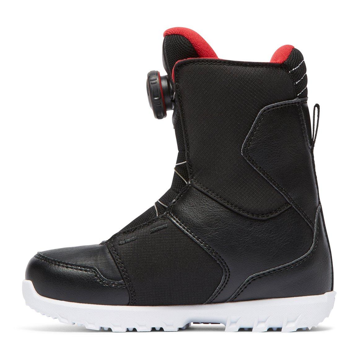 129fa71a 2 Niños 8-16 Botas para Snowboard Youth Scout BOA Negro ADBO100005 DC Shoes