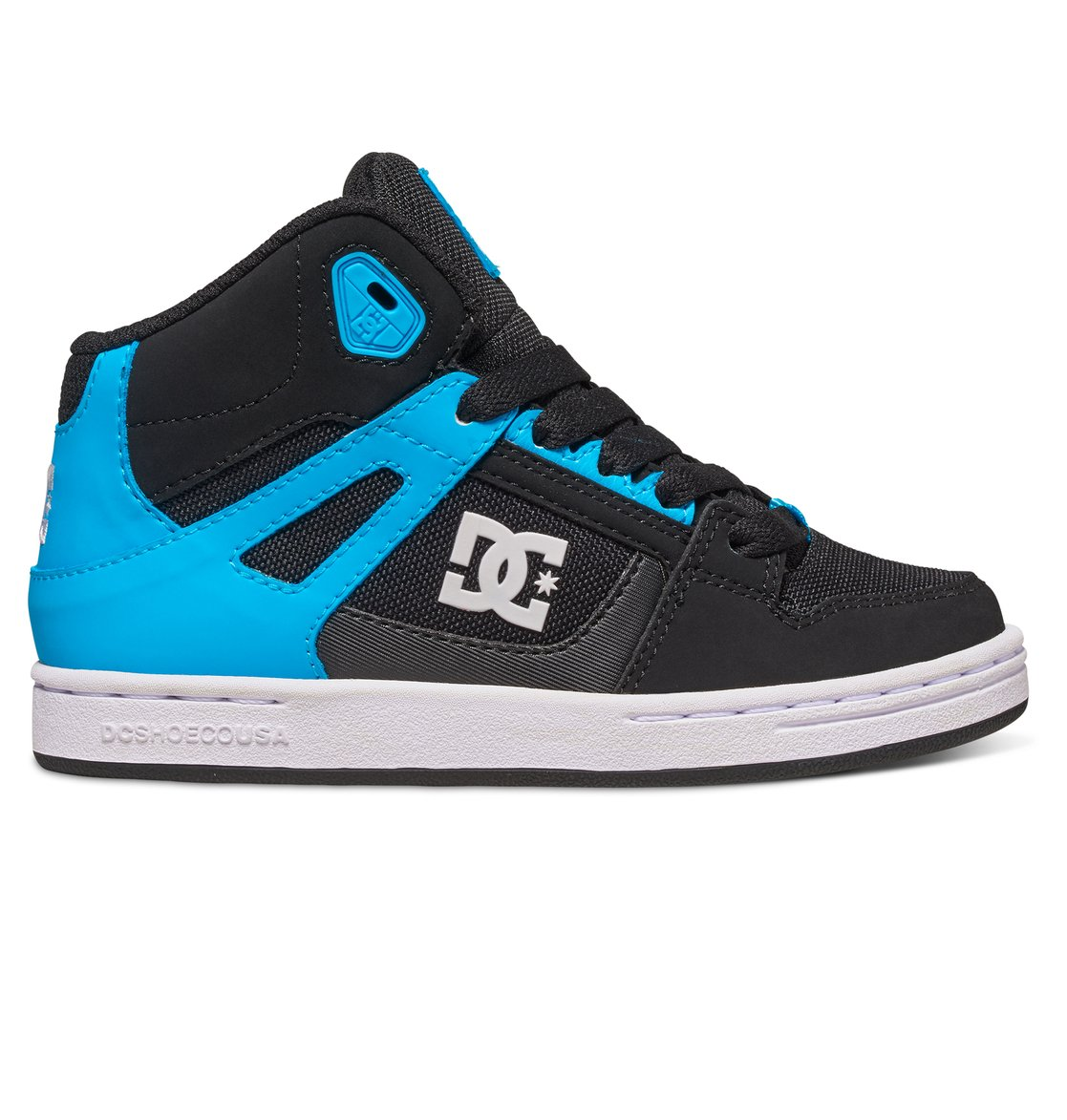 f69b2240e 0 Kid s Rebound SE High Top Shoes ADBS100204 DC Shoes
