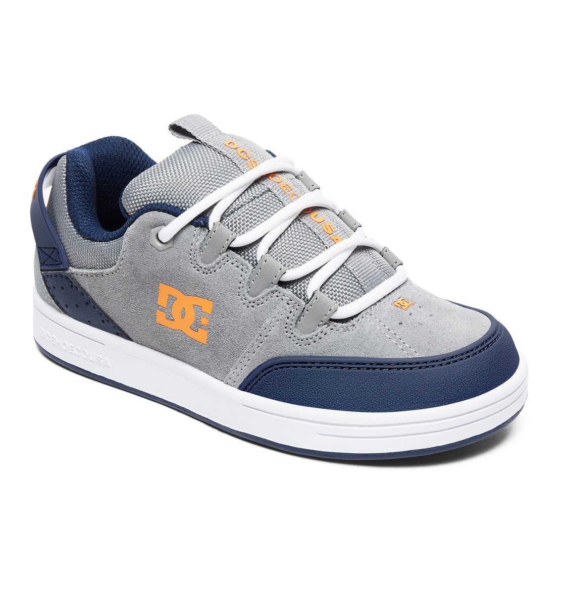 cbd498c9886 1 Syntax - Shoes for Boys Gray ADBS100257 DC Shoes