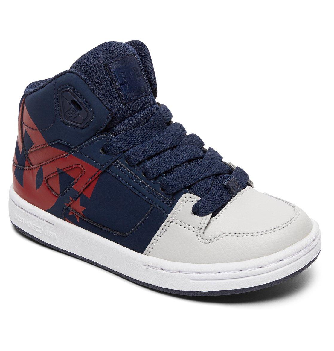 00ff95e1fc597 1 Pure HT SP - Chaussures montantes pour Garçon 8-16 ans Bleu ADBS100258 DC