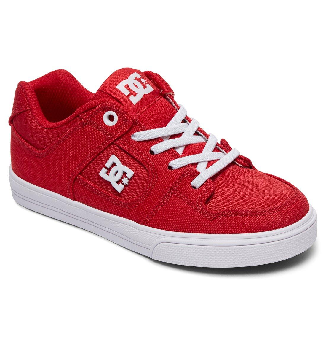 c79360e52 1 Niños 4-7 Zapatos de Meter Elástico PuroTX SE Rojo ADBS300257 DC Shoes