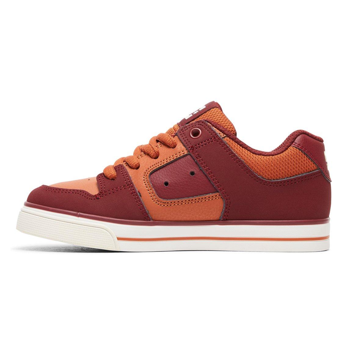 8b5bc4cb9 2 Pure - Zapatillas para Chicos Rojo ADBS300267 DC Shoes