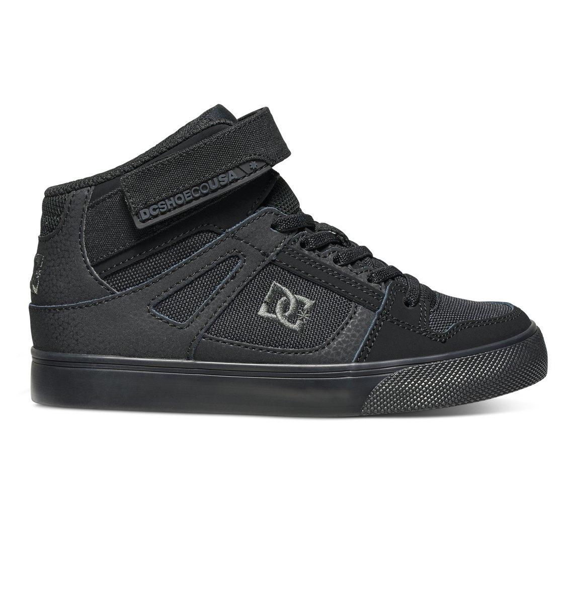 cf3ee627f804 0 Boy s 8-16 Pure High EV High-Top Shoes Black ADBS300324 DC Shoes