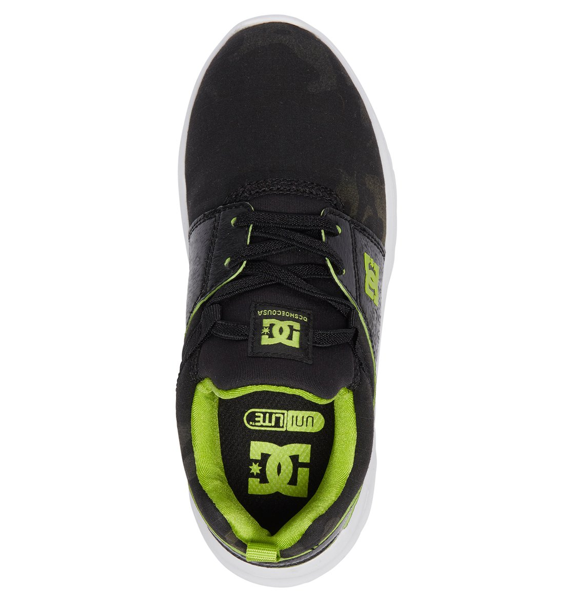17388c76491ae 3 Heathrow TX SE - Zapatillas con Cordones Elásticos para Chicos Gris  ADBS700066 DC Shoes