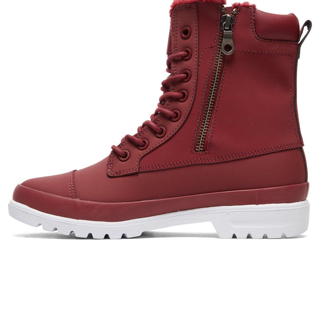 a73070247e409 2 Amnesti WNT - Botas de invierno para Mujer Rojo ADJB300010 DC Shoes