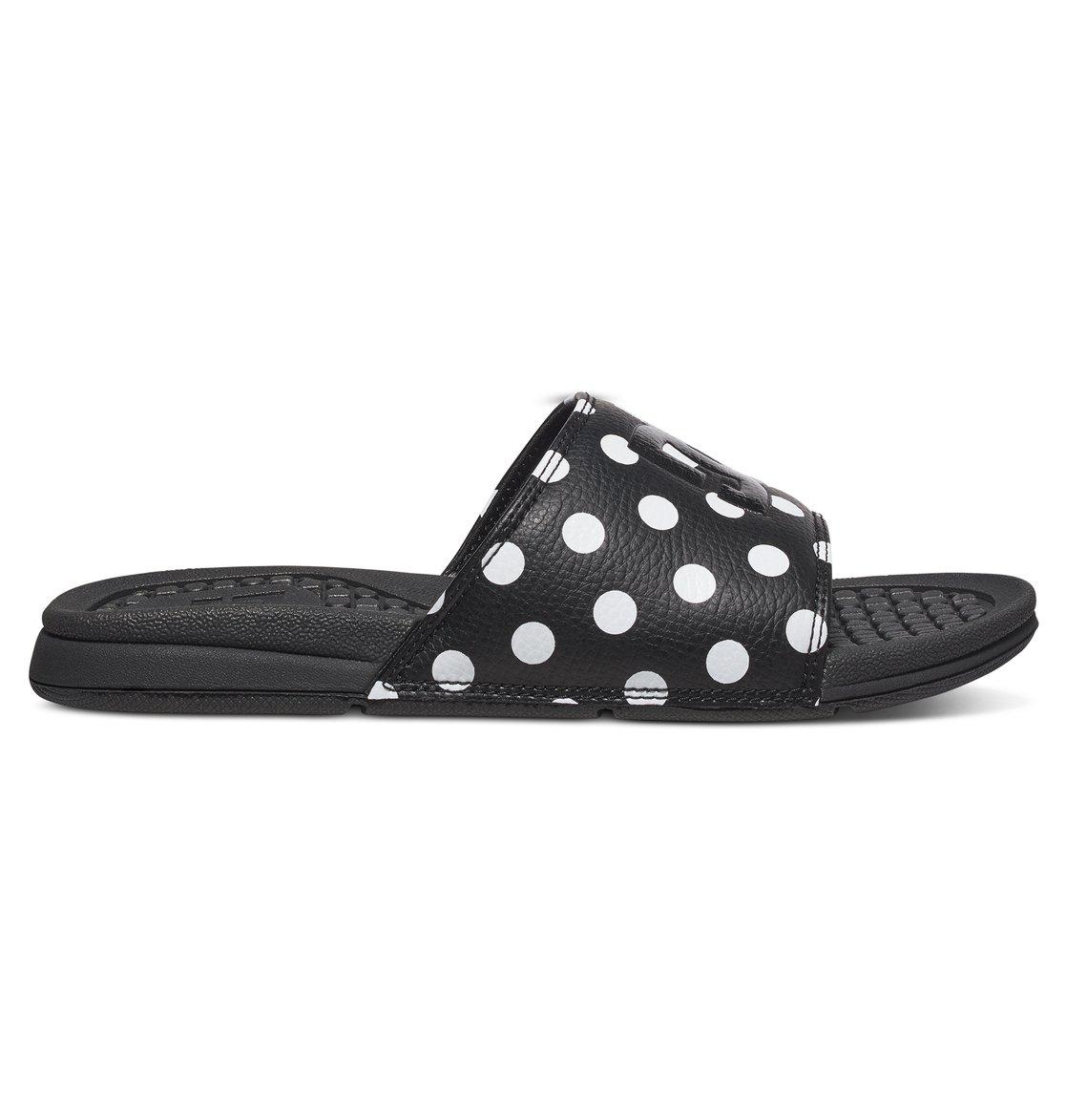 3cfe8194b78a 1 Bolsa SE - Leather Slider Sandals for Women ADJL100008 DC Shoes