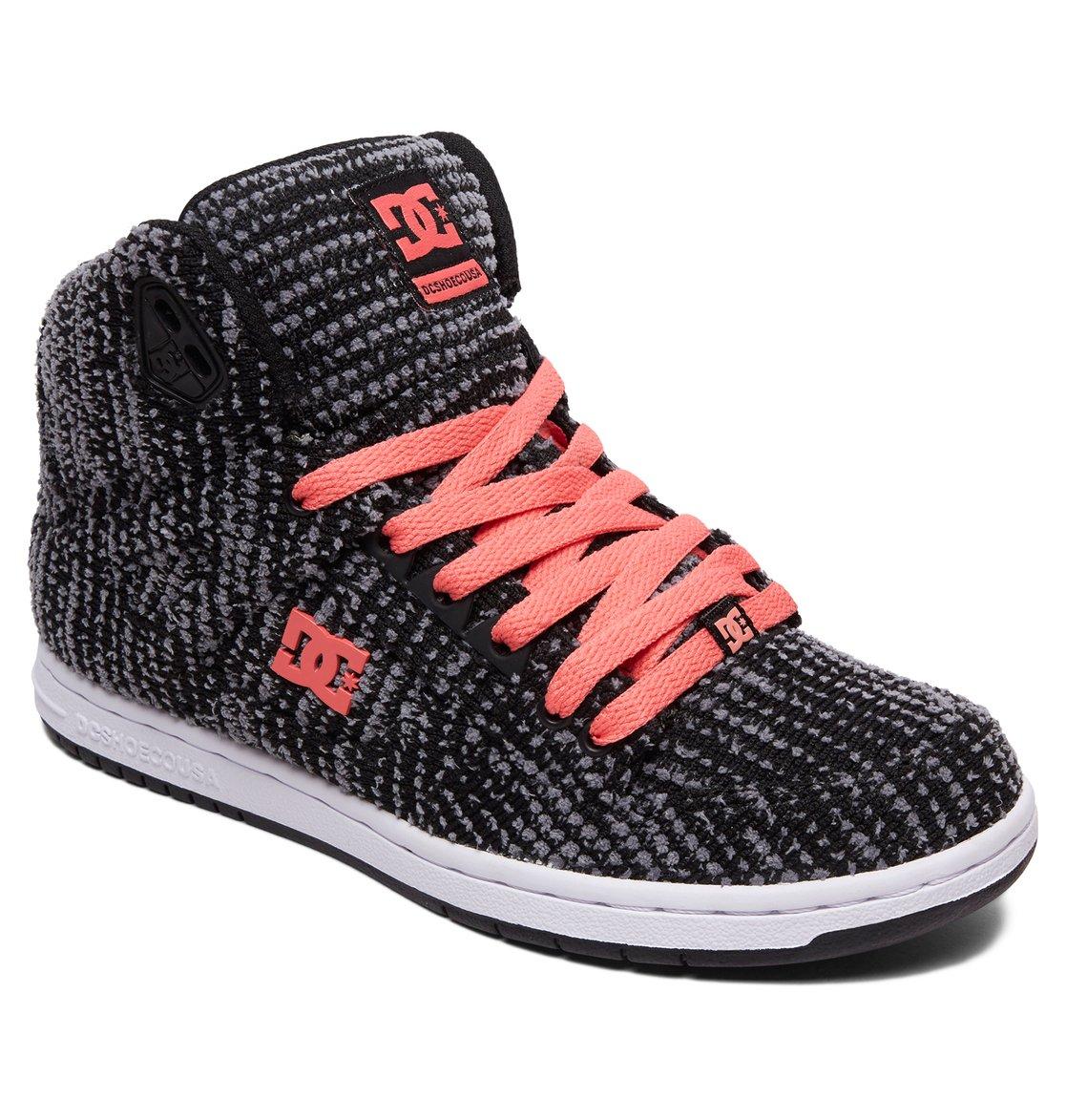 7c93692815e6 1 Women s Pure TX SE High Top Shoes Black ADJS100115 DC Shoes