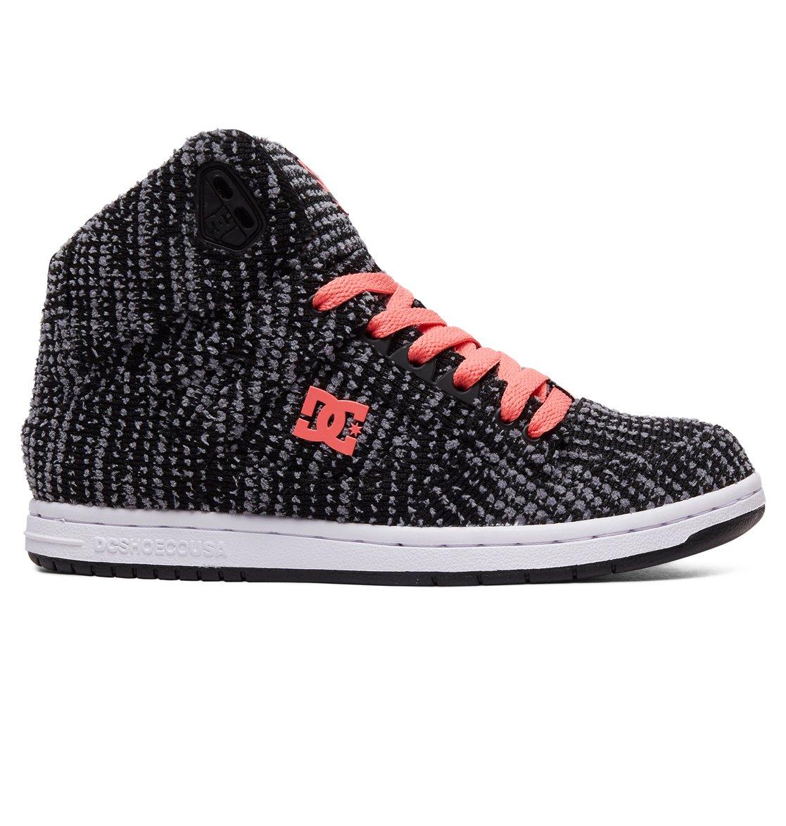 0b41659ef7 0 Women s Pure TX SE High Top Shoes Black ADJS100115 DC Shoes