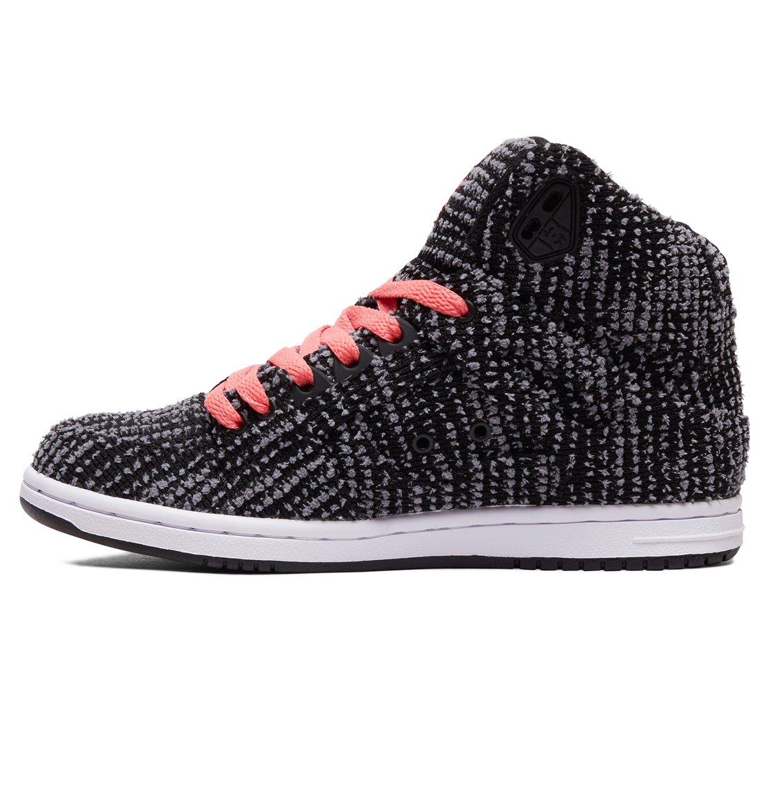 a2e9140dc0 2 Women s Pure TX SE High Top Shoes Black ADJS100115 DC Shoes