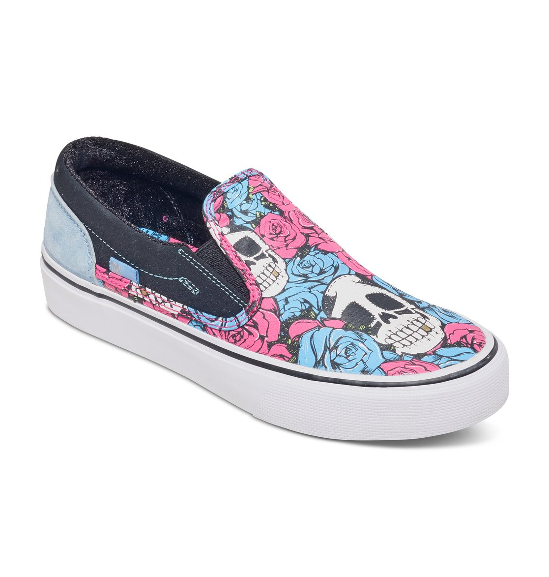8c8aea6e59 1 Women s Trase X Taylor Reeve Slip On Shoes ADJS300129 DC Shoes