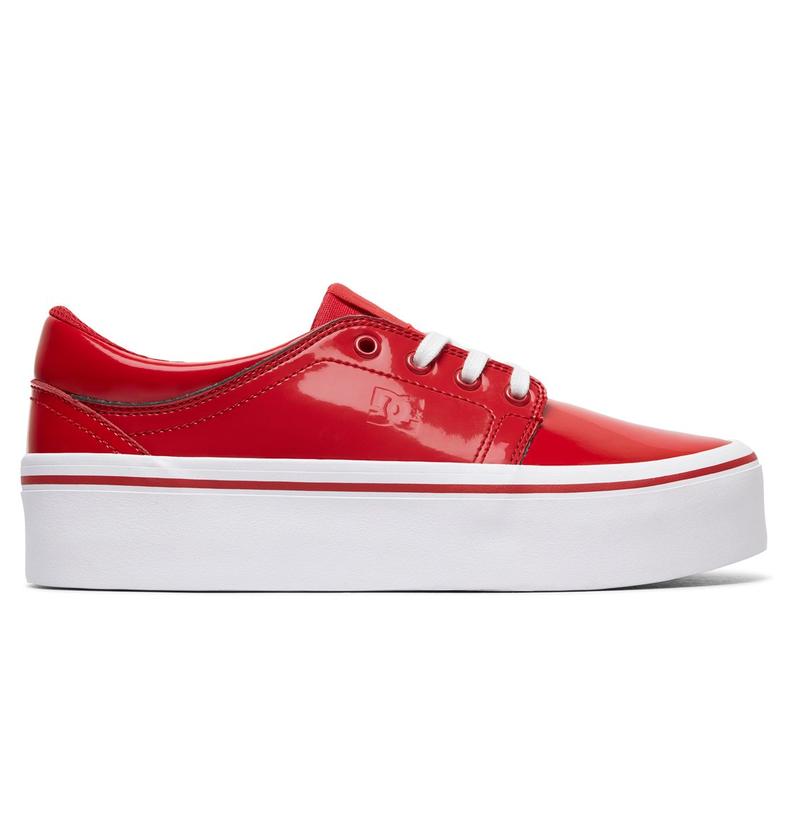 501c53ef35 0 Women s Trase Platform SE Shoes Red ADJS300187 DC Shoes