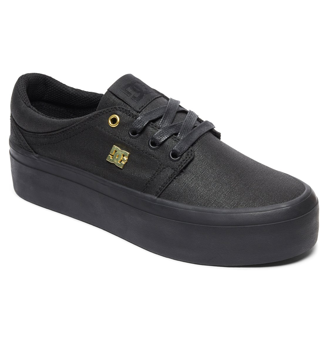 577062111bad 1 Trase Platform TX SE - Shoes for Women Black ADJS300196 DC Shoes