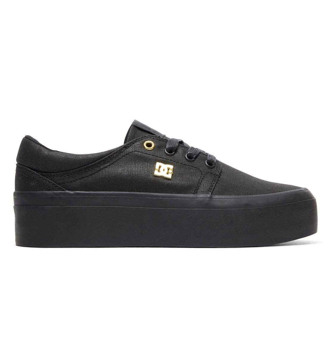 0272634c7697b 0 Trase Platform TX SE - Baskets pour Femme Noir ADJS300196 DC Shoes