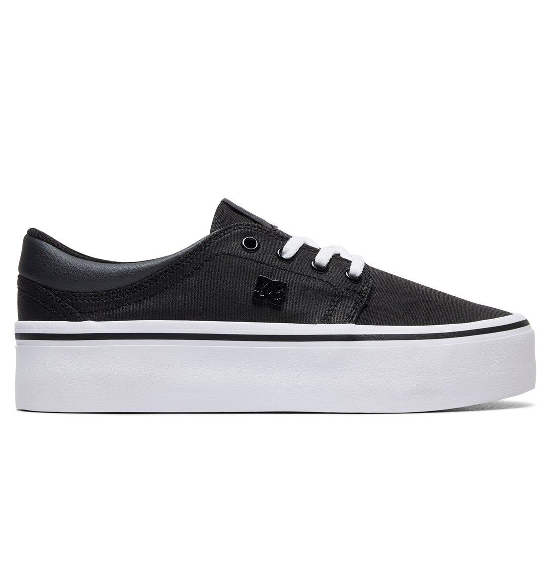 879e4ecafa 0 Women's Trase Platform TX SE - Shoes Black ADJS300196 DC Shoes