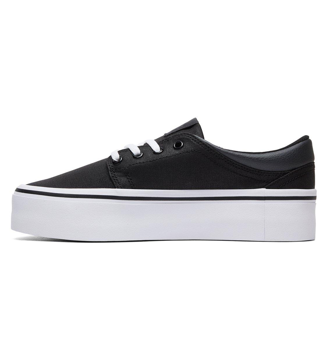 a991d4e215 2 Women's Trase Platform TX SE - Shoes Black ADJS300196 DC Shoes