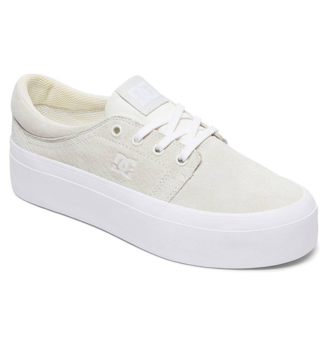 31f029d7ae9 1 Trase Platform LE - Baskets pour Femme Blanc ADJS300218 DC Shoes
