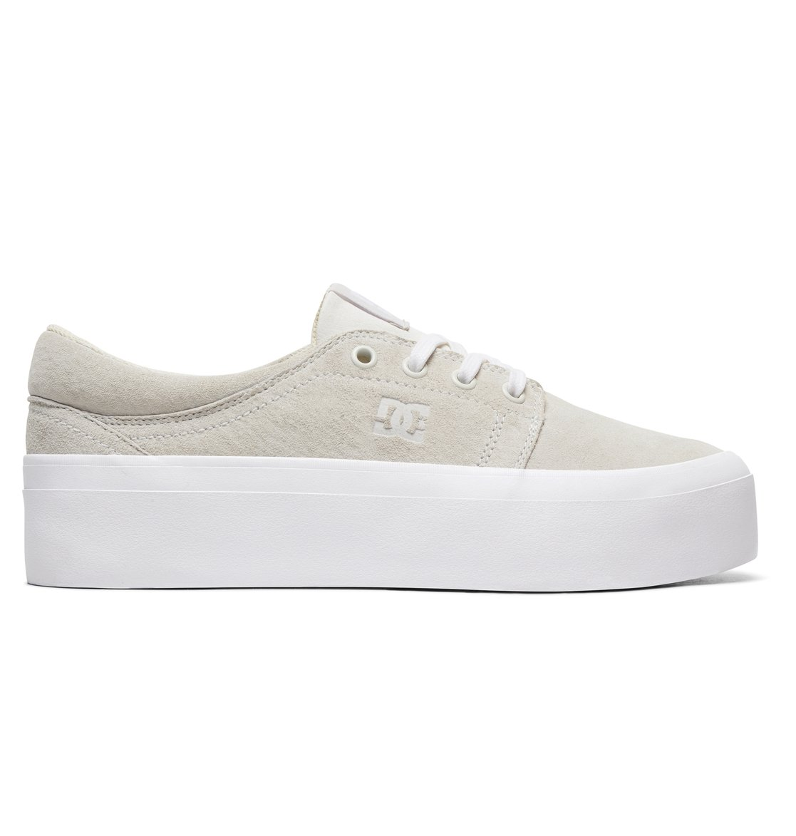 ad70b0a7d4de 0 Women s Trase Platform LE Shoes White ADJS300218 DC Shoes
