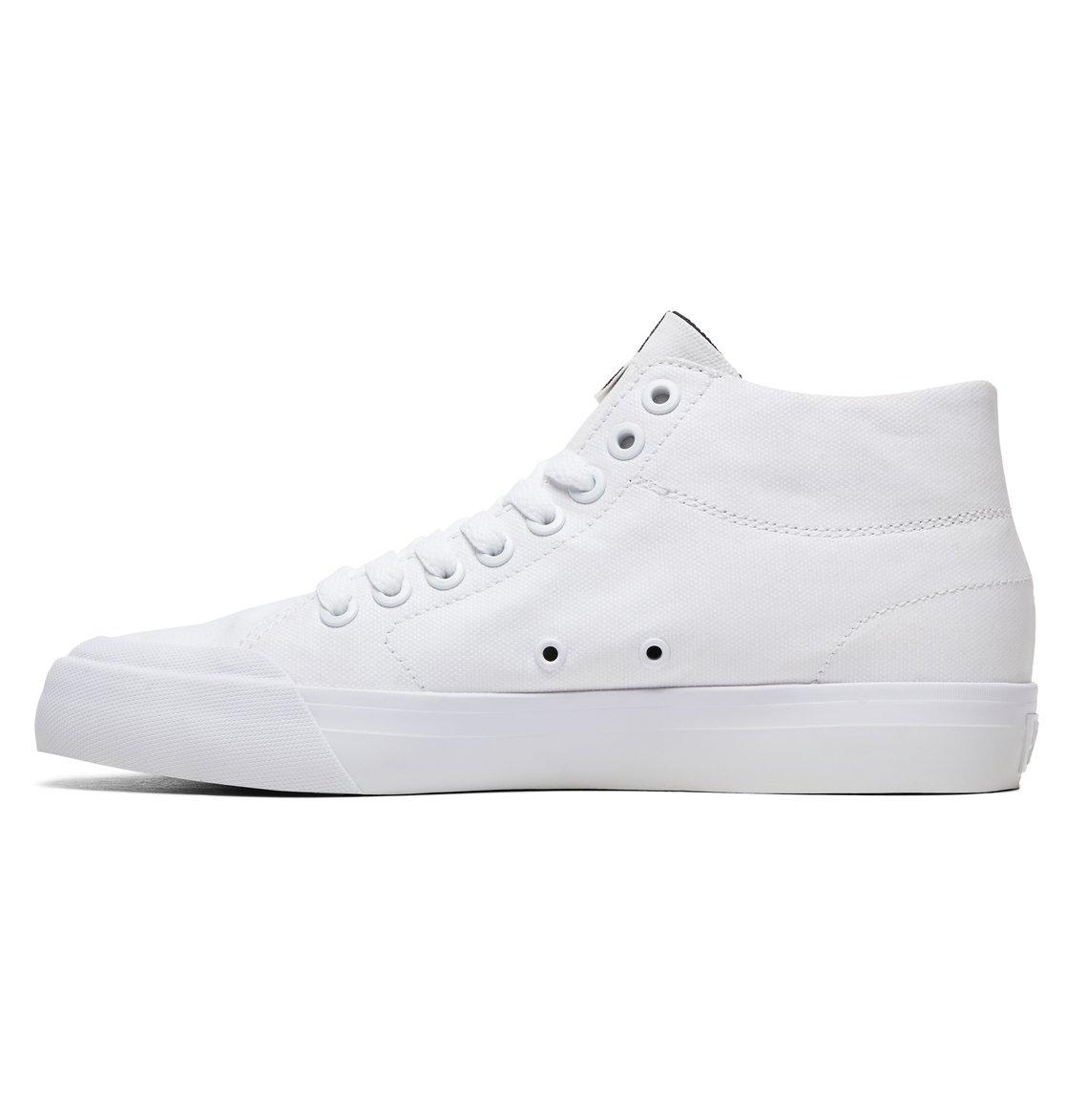 8bb185138e90 2 Evan HI Zero TX - High-Top Shoes for Women White ADJS300229 DC Shoes