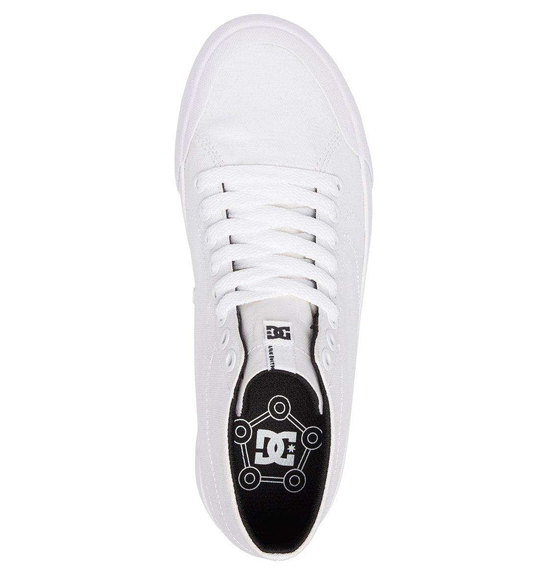 0c5e5f29fab8 3 Evan HI Zero TX - High-Top Shoes for Women White ADJS300229 DC Shoes