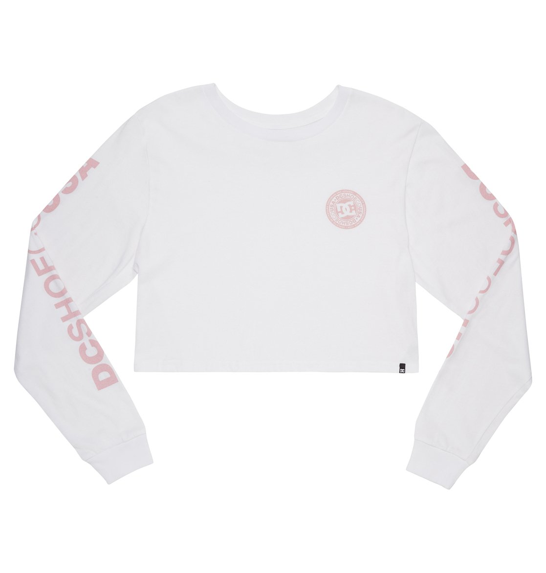 264a5a003 Circle Star Cropped Long Sleeve Tee