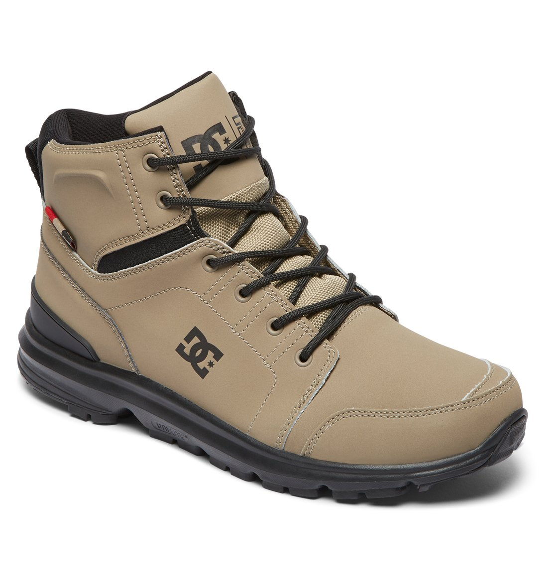 bcfb0afa46 1 Torstein Lace-Up Leather Boots Brown ADMB700008 DC Shoes