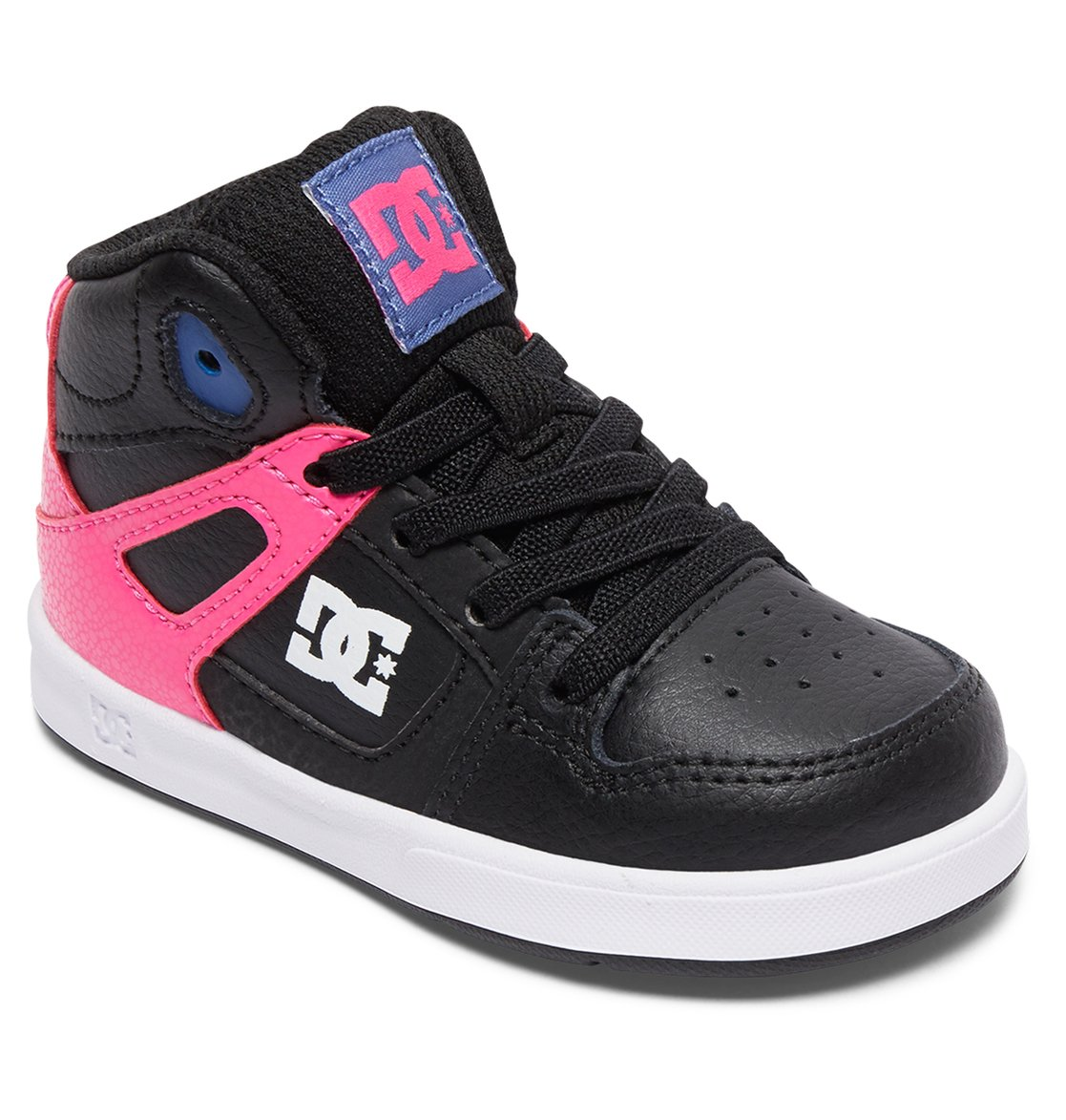 604153901c 1 Rebound UL - Mid-Top Elastic-Laced Shoes for Toddlers ADOS700026 DC Shoes