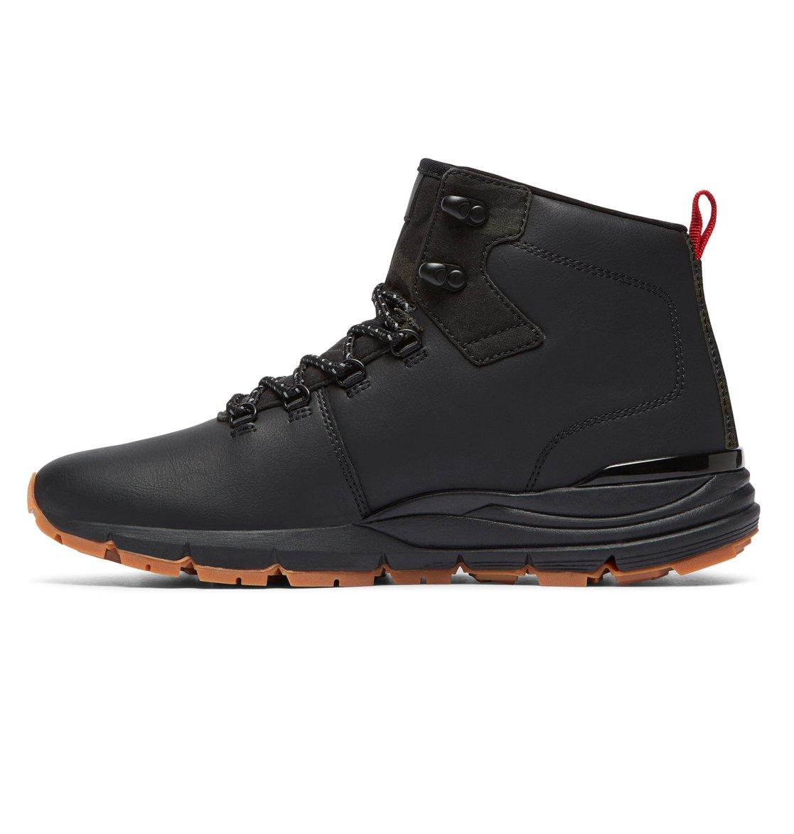 9f0151422b35da 2 Muirland Lace-Up Leather Boots Black ADYB700021 DC Shoes