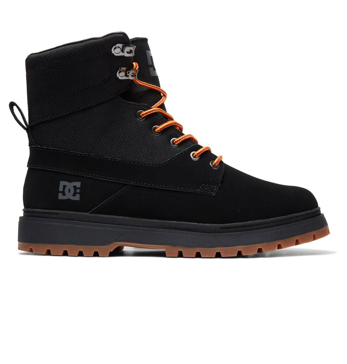 539a3aee259e 0 Uncas Lace-Up Boots Black ADYB700023 DC Shoes