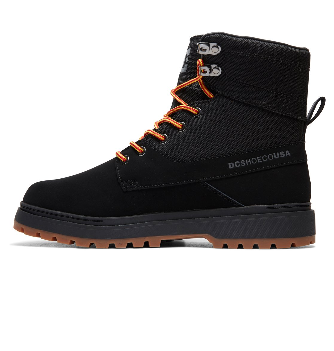 347c821f54cf 2 Uncas Lace-Up Boots Black ADYB700023 DC Shoes
