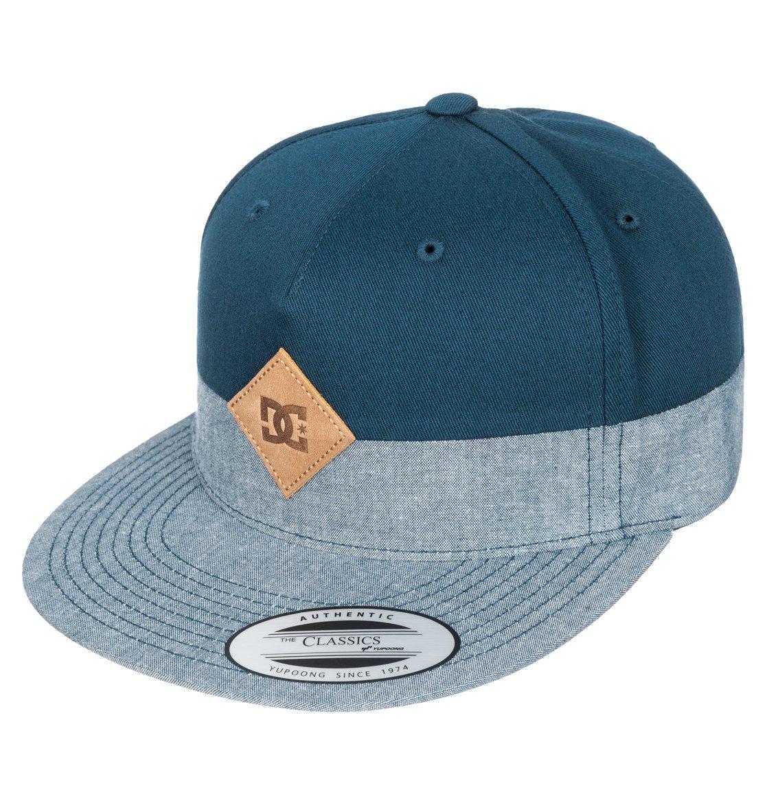7816e3d7f09 0 Men s Halfer 5-Panel Structured Strapback Hat ADYHA03118 DC Shoes