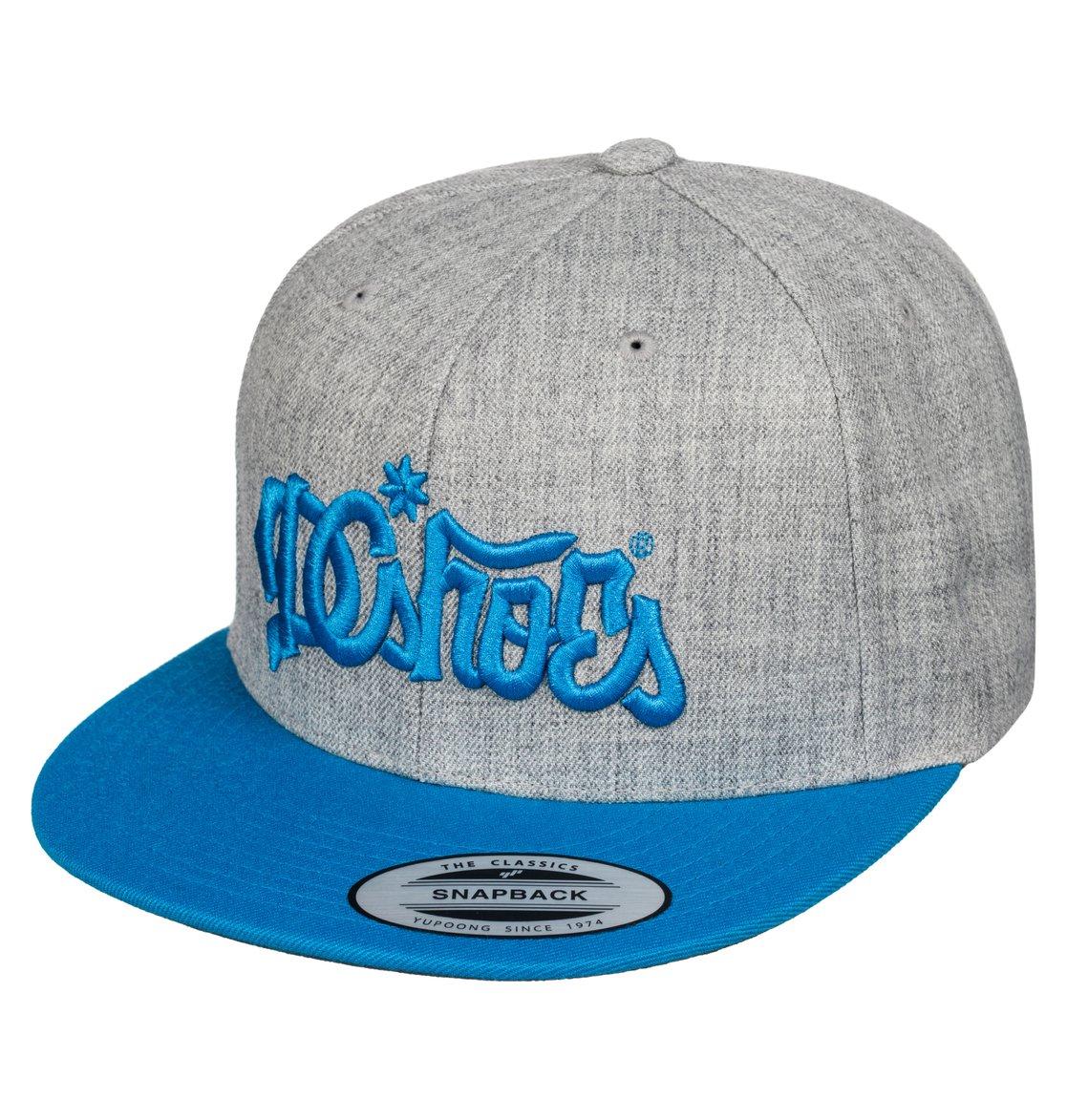 4bec91c0418d1 0 Men s 123 Klan Snapback Hat ADYHA03270 DC Shoes