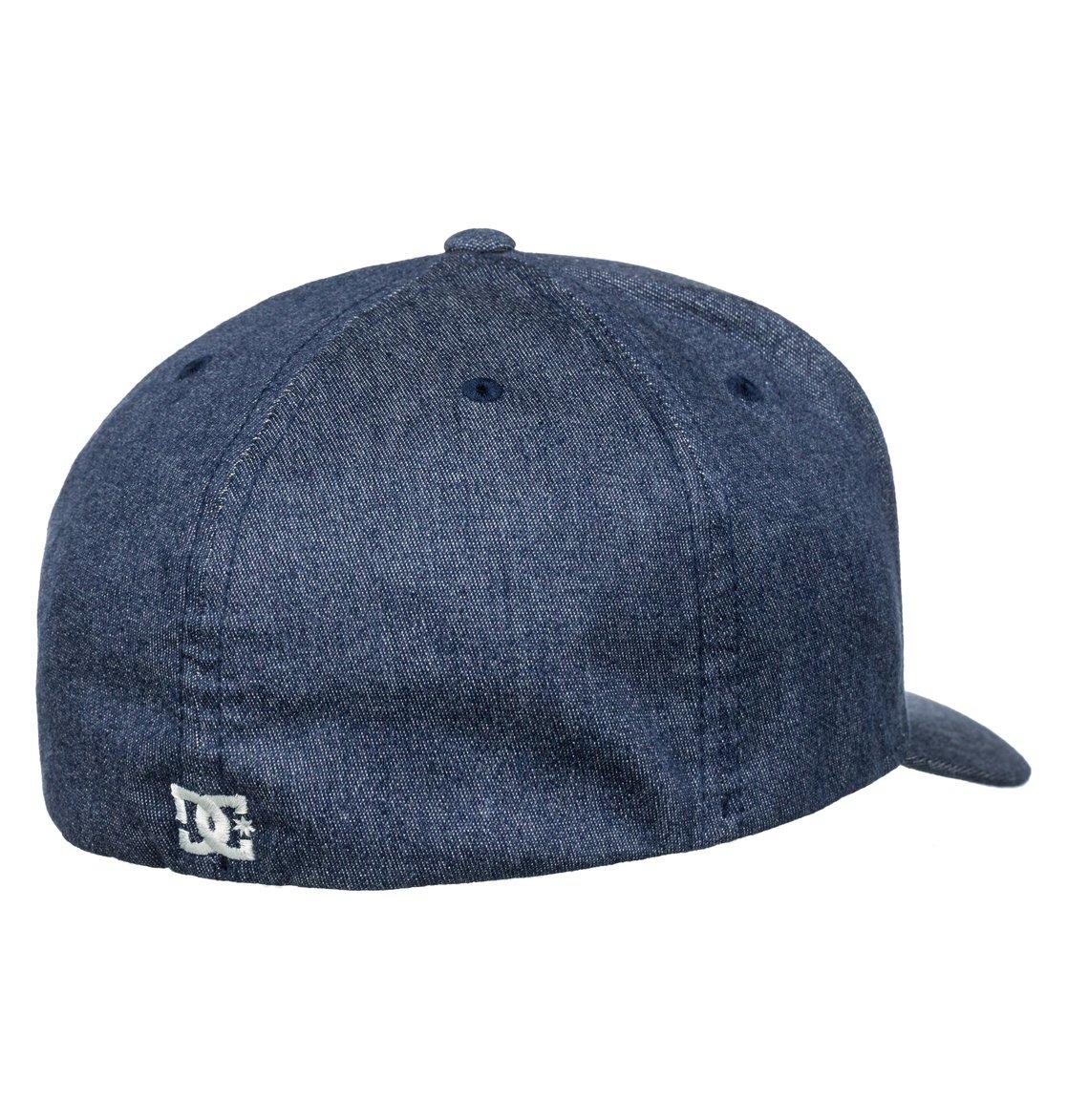 99cd07d98af46 2 Capstar TX Flexfit Hat Blue ADYHA03561 DC Shoes