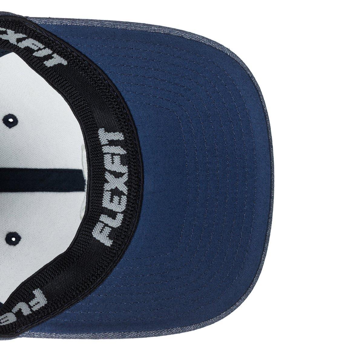 55c9a1ef48d52 3 Capstar TX Flexfit Hat Blue ADYHA03561 DC Shoes