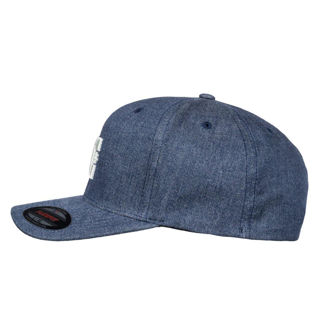 c4364299fc626 1 Capstar TX Flexfit Hat Blue ADYHA03561 DC Shoes