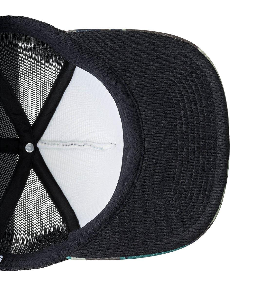 bdcbb4ae9a3ac 3 Balderson Trucker Hat Green ADYHA03628 DC Shoes