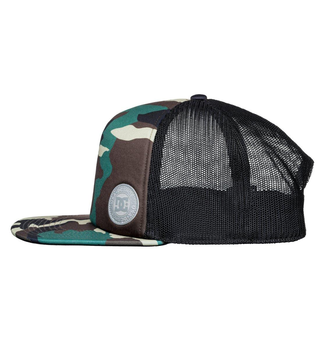 51618eaa352c0 1 Balderson Trucker Hat Green ADYHA03628 DC Shoes