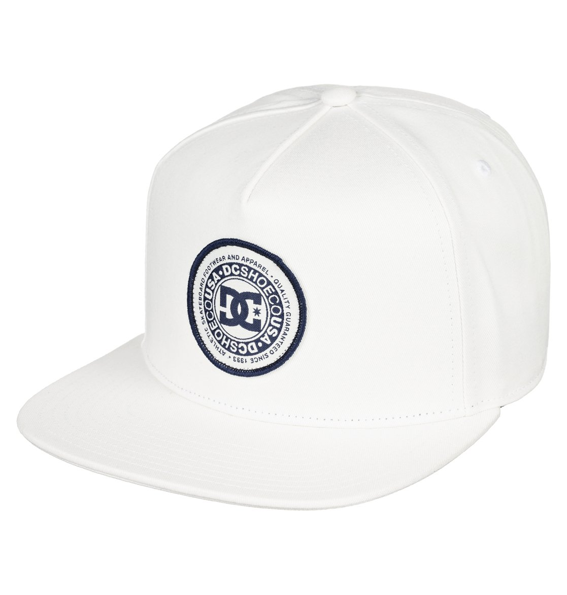 694600a2b5160 0 Cresty - Snapback Cap for Men White ADYHA03646 DC Shoes