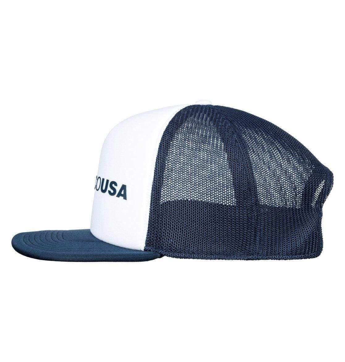 169d9dd386540a 1 Lieberson Trucker Hat ADYHA03720 DC Shoes