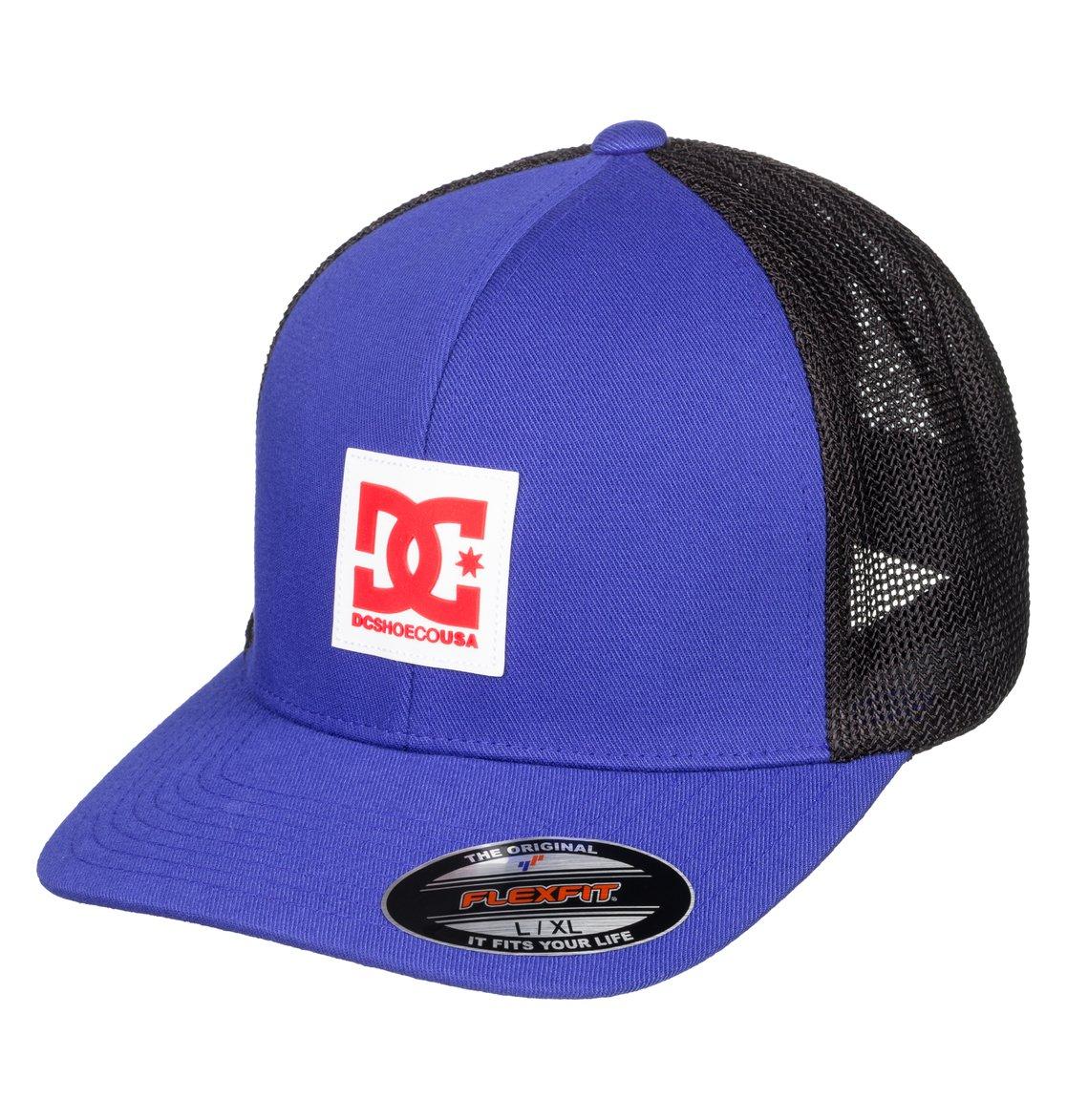5a34b2f698923 0 Mesher Flexfit® Trucker Hat Blue ADYHA03761 DC Shoes