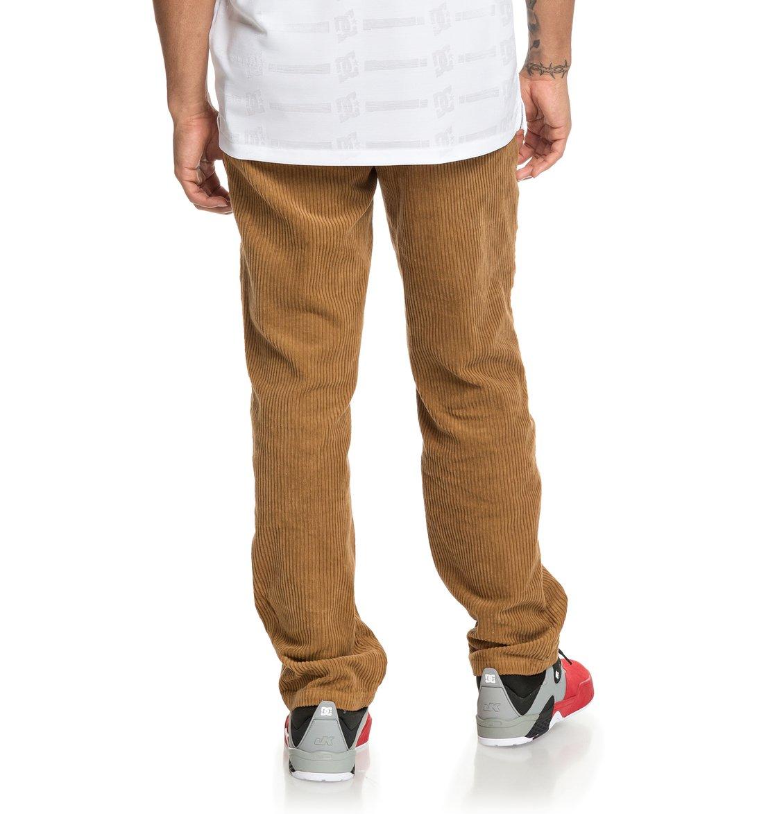 758c7db5269 5 Cord - Pantalón de Pana para Hombre Naranja ADYNP03043 DC Shoes