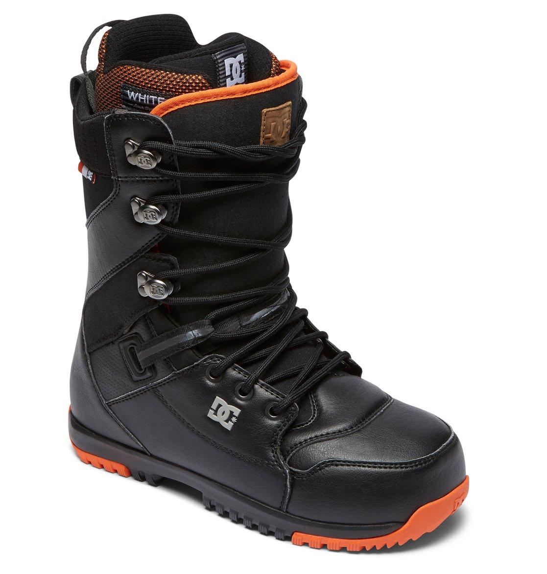 943d43a1a94df 1 Mutiny - Boots de snow à lacets pour Homme Noir ADYO200037 DC Shoes