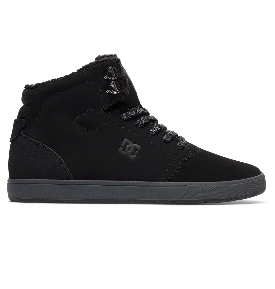 617e229c55 0 Crisis WNT - Winterized Mid-Top Shoes for Men Black ADYS100116 DC Shoes