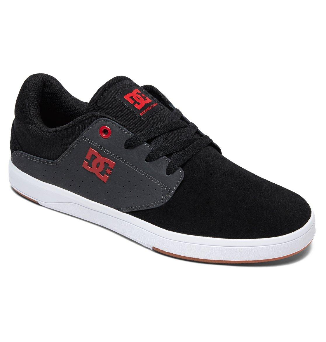 a6d04465bc5 1 Plaza S Skate Shoes Black ADYS100319 DC Shoes