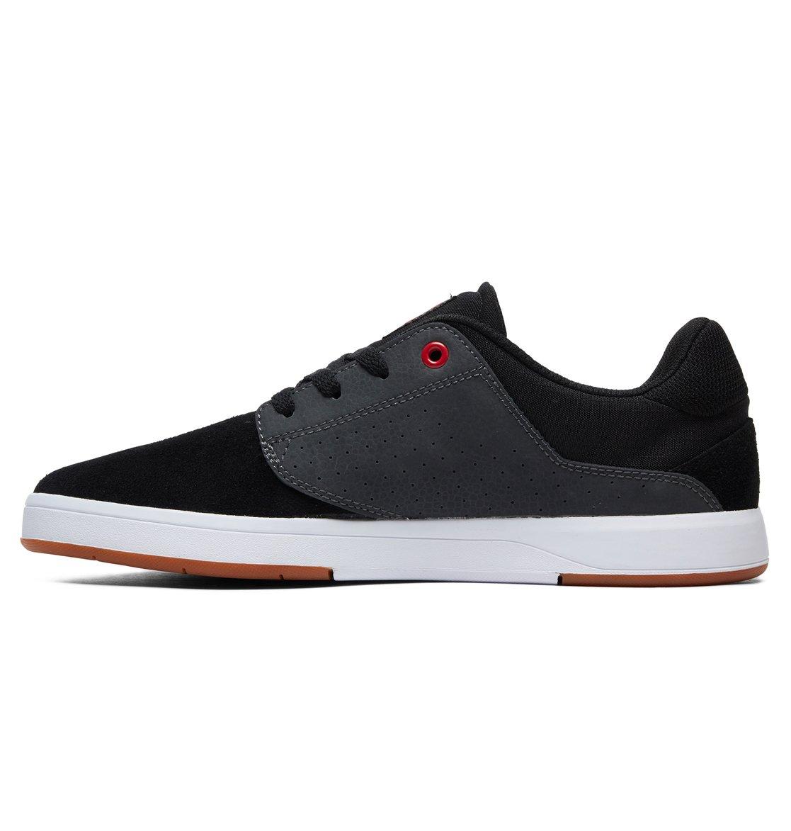 5fec03925a5 2 Plaza S Skate Shoes Black ADYS100319 DC Shoes