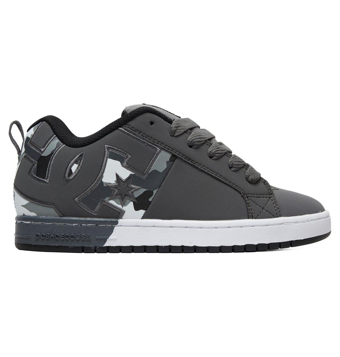 9e6f144b174 0 Court Graffik - Zapatillas para Hombre Gris ADYS100442 DC Shoes