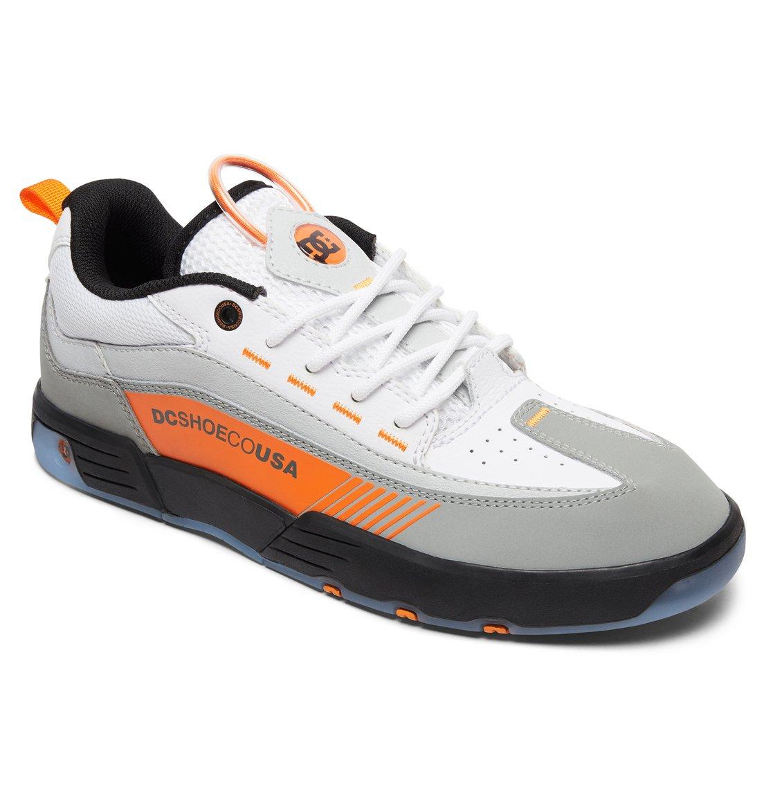 2e9a219d88bc 1 Legacy 98 Slim - Leather Shoes for Men Black ADYS100445 DC Shoes